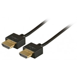 HDMI кабел Slim M/M 0.5m...