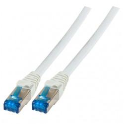 K5535GR.2, Пач кабел Cat.6A 2m SFTP СИВ, EFB