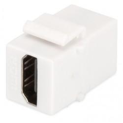 DN-93401, HDMI адаптер keystone, бял, Assmann