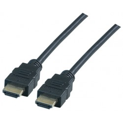 K5430SW.2, HDMI кабел 2м 4K черен, EFB