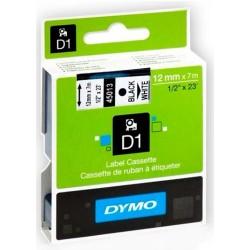 45013, Лента DYMO съвм. 12mm x 7mm - черно-бяла
