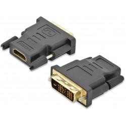 84522, Адаптер DVI-HDMI M/F single link, Full HD