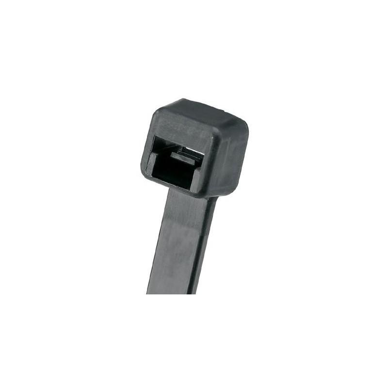 PLT4I-M0,  Каб. опашки 3.7x368mm weath. resist черни, pk1000