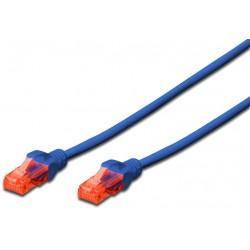 DK-1617-020/B, Patch cable Cat.6 2m UTP син LSZH, Assmann