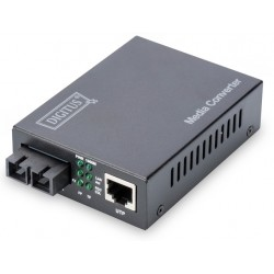 DN-82121-1, Конвертор SM SC Gbit до 10км 1310nm Assmann