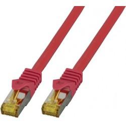 MK7001.20R, Пач кабел Cat.7 SFTP 20m червен, EFB