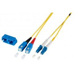 PCH-SCLCA2DLZ20YE-02, Оптична корда дуплекс 9/125 LC-SC 2m, Alfafonet