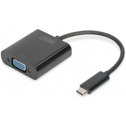 USB-C към VGA FullHD 19.5cm Assmann