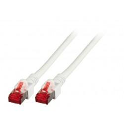 K5518.10, Пач кабел Cat.6 10m SFTP бял, EFB