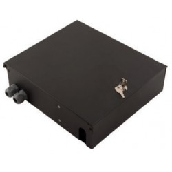 103011-BL.00, Оптична кутия 290x320x88mm сива Alfafonet