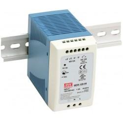 MDR-100-48, Захранване за DIN шина 100W, 48V Mean Well
