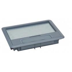 088000, Капак за подова кутия 6М Legrand - сив пласт.