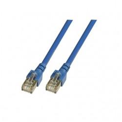 K5462.10, Пач кабел Cat.5e 10m FTP син, EFB