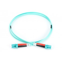 PCH-LCLCM3DLZ20AQ-02, Оптична корда дуплекс 50/125 LC-LC (OM3), 2m Alf