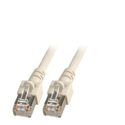 K5455.0,15, Пач кабел Cat.5e 0.15m SFTP сив, EFB