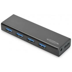 85155, USB3.0 хъб 4 порта Digitus