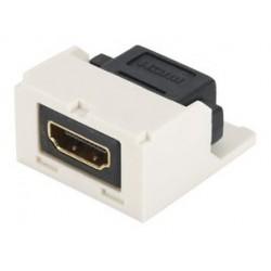 CMHDMIAW, HDMI MiniCom jack F/F бял, хдми адаптер