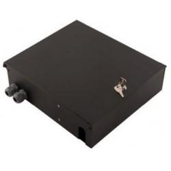 103011-BL.00-103011-BL.01, Оптична кутия 24xSC duplex сива, Alfafonet