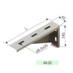 A6-20, Конзола за стена, икономична L200mm.
