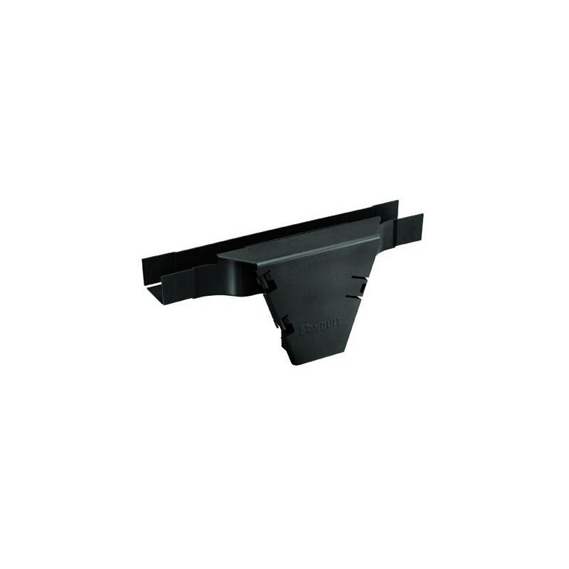 FVTHD2X2BL, Вертикален тройник 2X2 Fiber Runner. Компонент за аранжиране на оптични кабели.