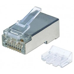 790505, Плъг RJ45 Cat.6 STP 3-prong, solid & strande IC