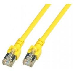 K5457DG.10, Пач кабел SFTP Cat.5e 10m жълт