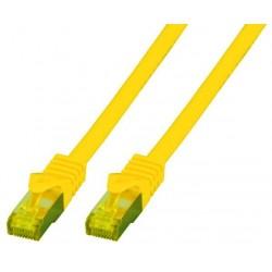 MK7001.2DG, Пач кабел Cat.6A 2m SFTP жълт, EFB