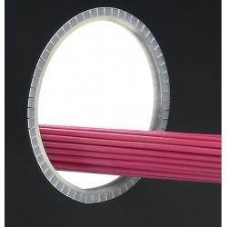 GEE62FR-CY, Кант кабелен Flame Retardant Polyethylene 30,5м