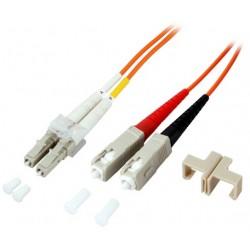 PCH-SCLCM3DLZ20AQ-02, Оптична корда дуплекс 50/125 LC-SC (OM3), 2m Alf