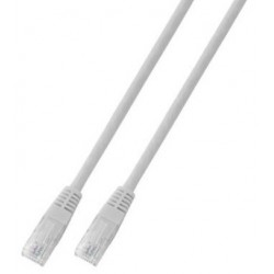 K8100WS.1.5, Patch cable Cat.6 1.5m UTP бял, EFB