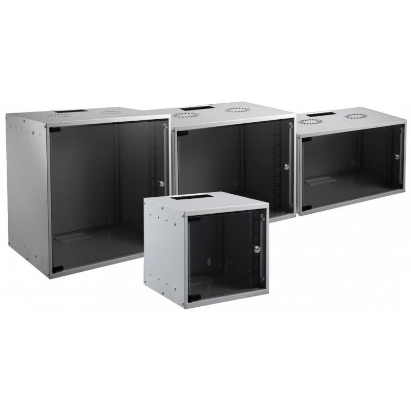"WGB-1906GR.60, Стенен комуникационен шкаф EFB, 6U 19"" SOHO шкаф 535x600mm сив."
