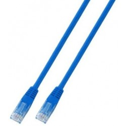K8100BL.0,25, Patch cable Cat.6 0,25m UTP син, EFB