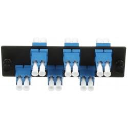 FAP6WBUDLCZ, FAP Панел с 6 LC SM duplex адаптера