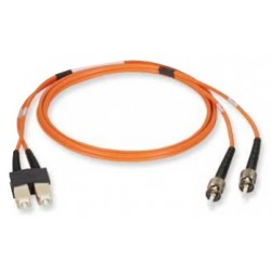 EFE050-001M, Опт.  корда OM2, MM, 50/125м, ST-SC 1m FR/LS0H