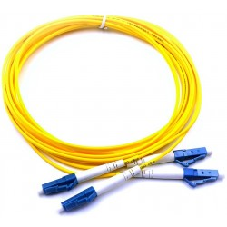 MY-9LCLC-7.5L, Оптична корда дуплекс 9/125 LC-LC, 7.5m.