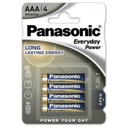 0508034, Алкална батерия батерия Panasonic Standart SPS LR03 1.5V AAA