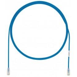 UTP28X4MBU, Пач кабел UTP cat.6A 28AWG 4m син, Panduit