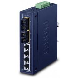 ISW-621T, Индустриален суич 4x10/100+2xSC MM, 1310nm