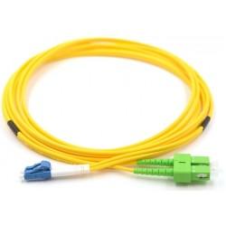 MY-9LCSCAPC-05L, Оптична корда дуплекс 9/125 LC-SC/APC 5m.