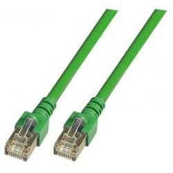 K5460.10, Пач кабел Cat.5e 10m SFTP зелен, EFB