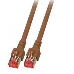 K5517.5, Пач кабел Cat.6 5m SFTP кафяв, EFB