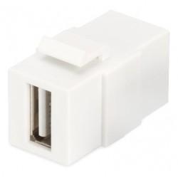 DN-93400, USB keystone adapter JackA/Jack