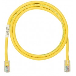 NK5EPC3MYLY, Пач кабел UTP Cat.5e 3m жълт, Panduit