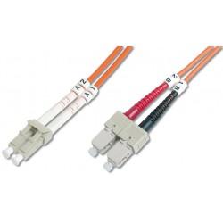 DK-2632-02, Оптична корда дуплекс 62.5/125 LC-SC 2m.