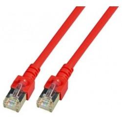 K5458.1.5, Пач кабел Cat.5e 1,5m SFTP червен, EFB