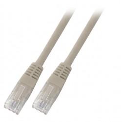 K8100GR.1, Patch cable Cat.6 1m  UTP Сив, EFB