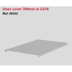 66302, Капак за перф.канал 100x300 3m UNEX