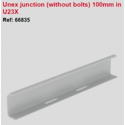 66835, Съединител за канал 100x300 U23X UNEX