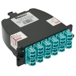 FC2ZN-24-10AS, QuickNet™ SFQ LC Cassette OM4 12xLC duplex,2xMPO