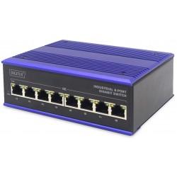 DN-651119, Индустриален суич 8 порта Gbit